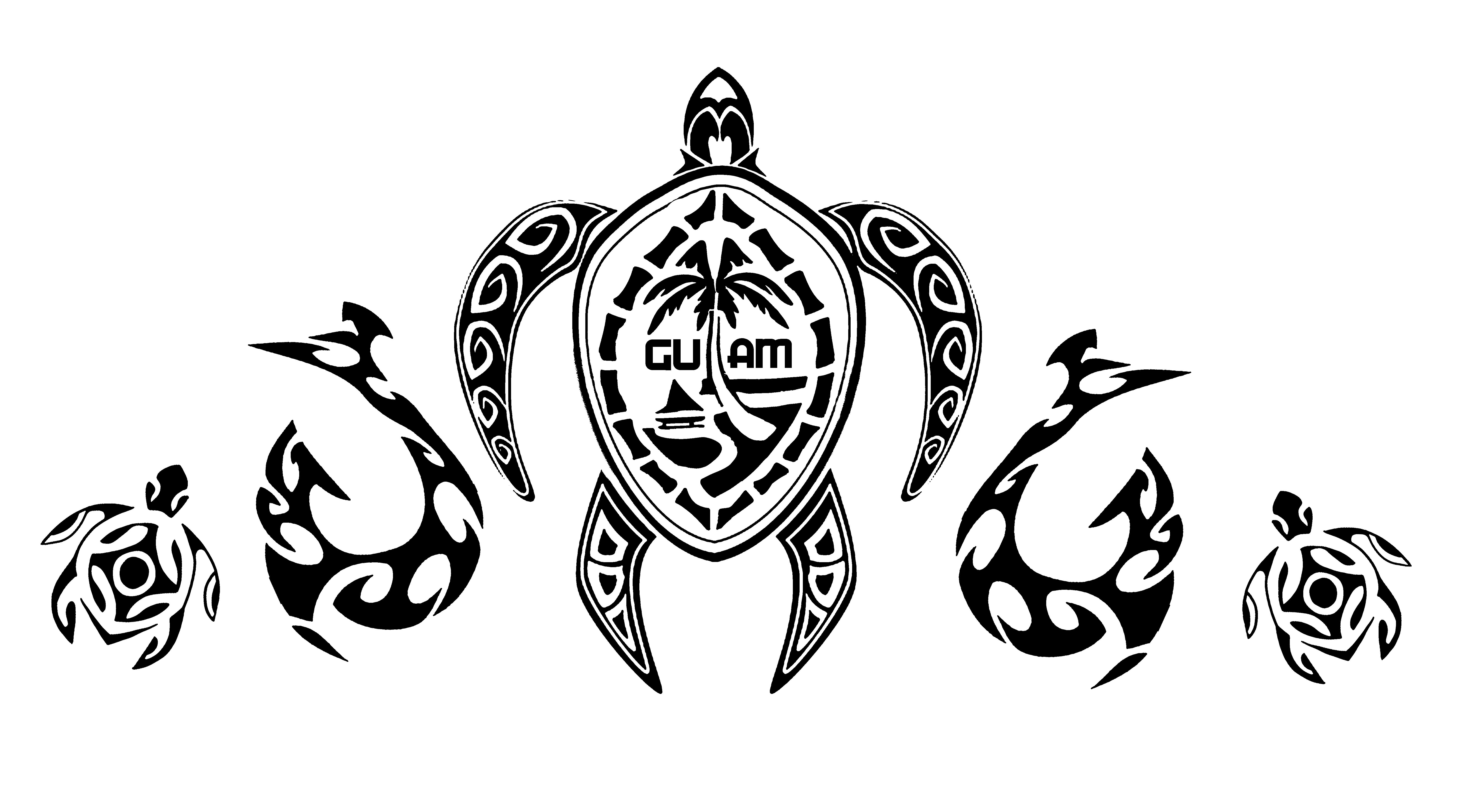 male style guam window decal graphicsbydre Guam Font windowdecal